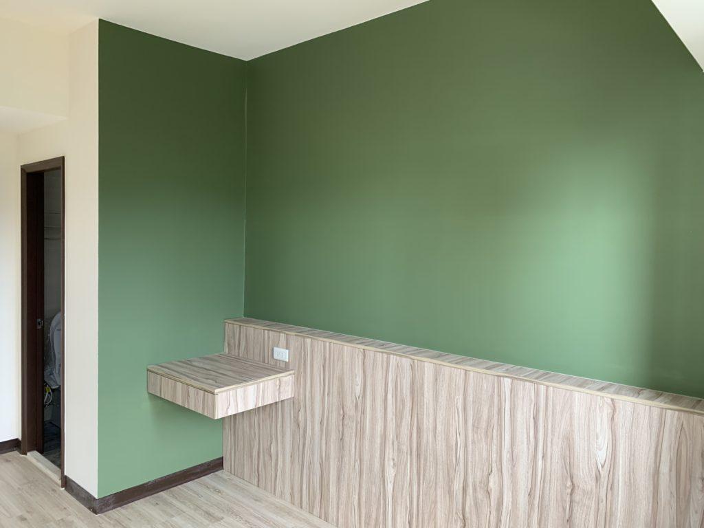 利用跳色,賦予空間新氛圍。圖片提供:PULO裝潢平台—臺北林則安提供