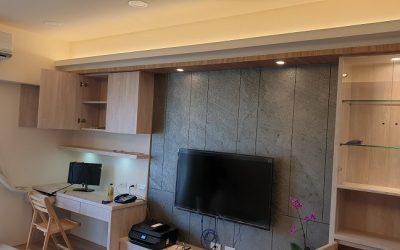 桃園裝潢開箱-簡單的裝修,留一角給個人辦公室