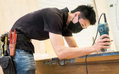 十年磨劍,細緻裝潢木工—莊理偉師傅