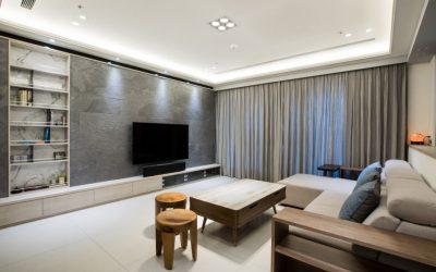客廳裝潢   灰感美宅—把灰色調到最暖,就是家的溫度