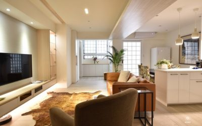桃園裝潢設計開箱-舊屋改成開放式廚房的新家