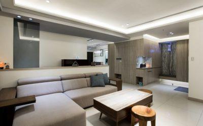 客廳裝潢-工業風寧靜灰-把灰色調到最暖,就是家的溫度