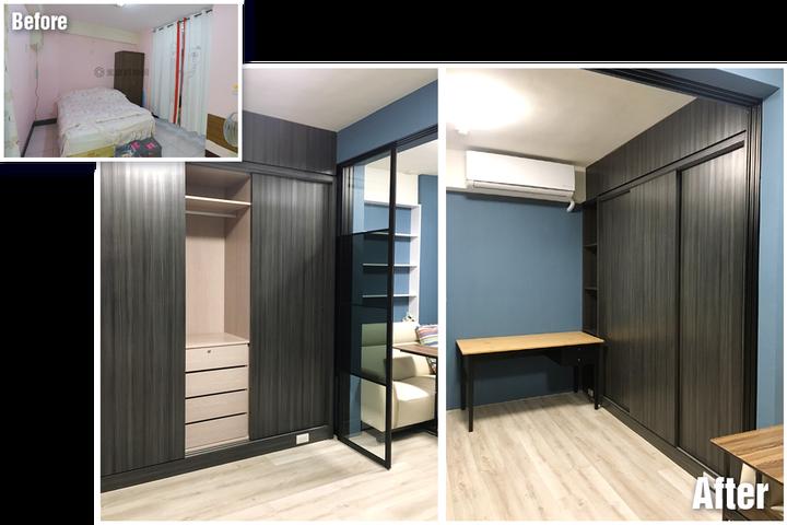 台南裝潢推薦-小宅設計魂,在理想和預算間找到平衡的美好案例-收納