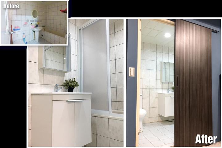 台南裝潢推薦-小宅設計魂,在理想和預算間找到平衡的美好案例-浴室