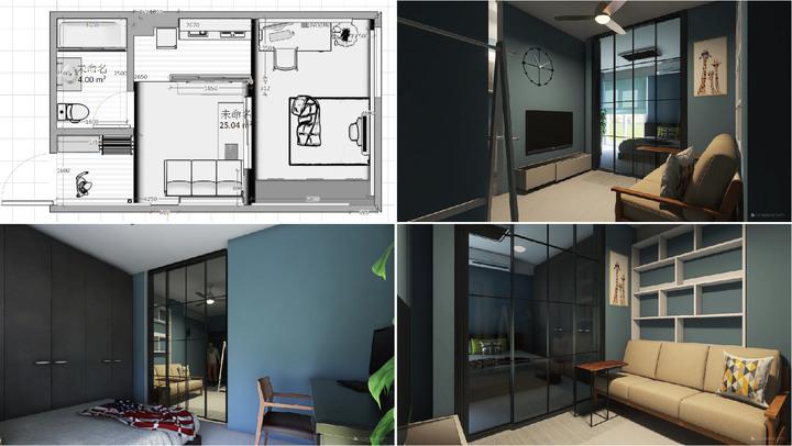 台南裝潢推薦-小宅設計魂,在理想和預算間找到平衡的美好案例