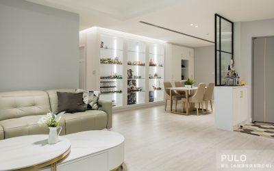 台北裝潢-輕美式純白透明感-如果愛,是一個家。