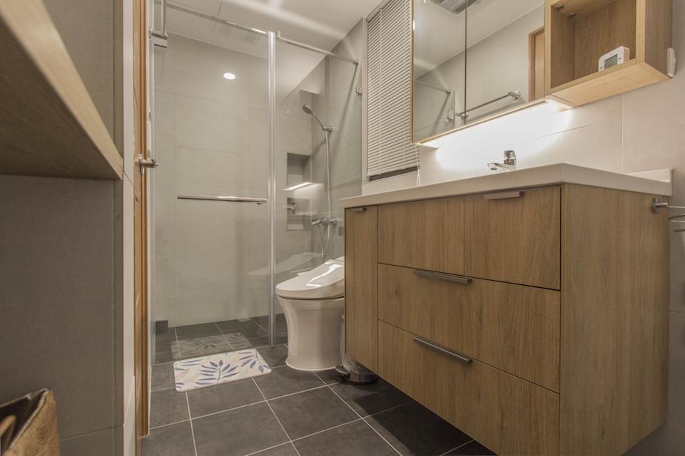 廁所、浴室裝潢該注意什麼細節?35個衛浴裝潢的實用重點整理!-浴櫃洗手台